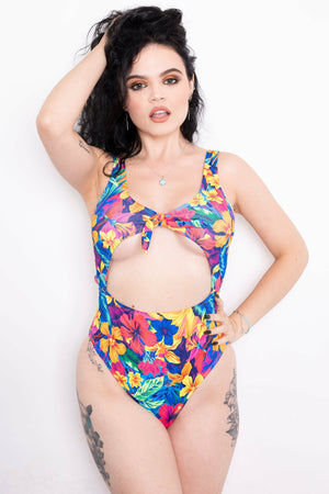 Tropicana Cut-Out Swimsuit
