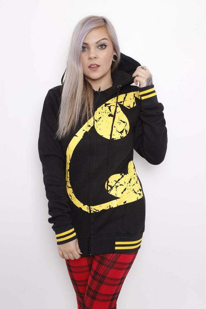 Batman Wing Hoodie - Soft Kitty Clothing