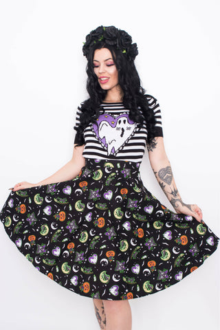 Autumn Pumpkin Skirt
