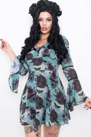 Crow Ash Mini Dress