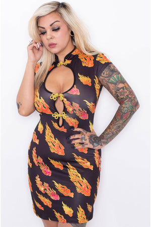 Flame Queen Oriental Dress
