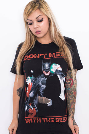 Harley Quinn + The Joker T-Shirt - Soft Kitty Clothing