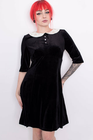 Hell Bunny Hermeline Woodland Mini Dress