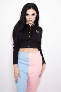 Cotton Candy Two-Tone Pants