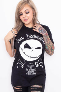 Nightmare Before Christmas : Cheeky Jack T-Shirt