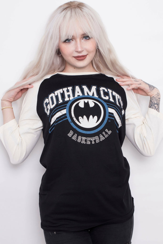 Team Batman Raglan Top