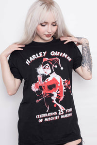 Happy Birthday Harley Quinn T-Shirt - Soft Kitty Clothing