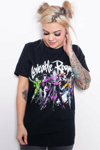 DC Villains Loveable Rogues T-Shirt