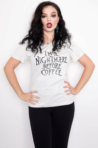 Nightmare Before Coffee T-Shirt