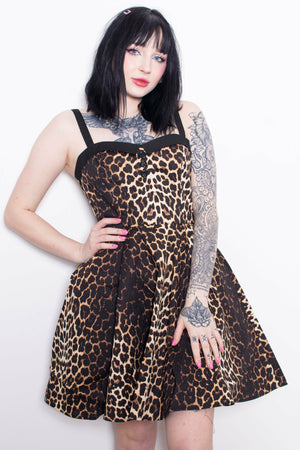 Panthera Leopard Print Dress