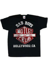 Motley Crue : Bad Boys T-Shirt [KIDS]