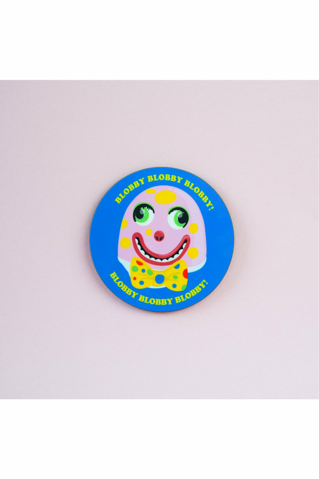 Mr Blobby Coaster