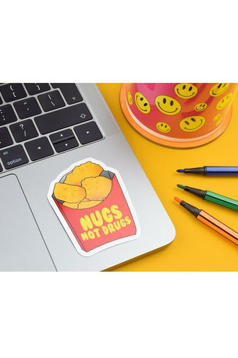 Nugs Not Drugs Stickers