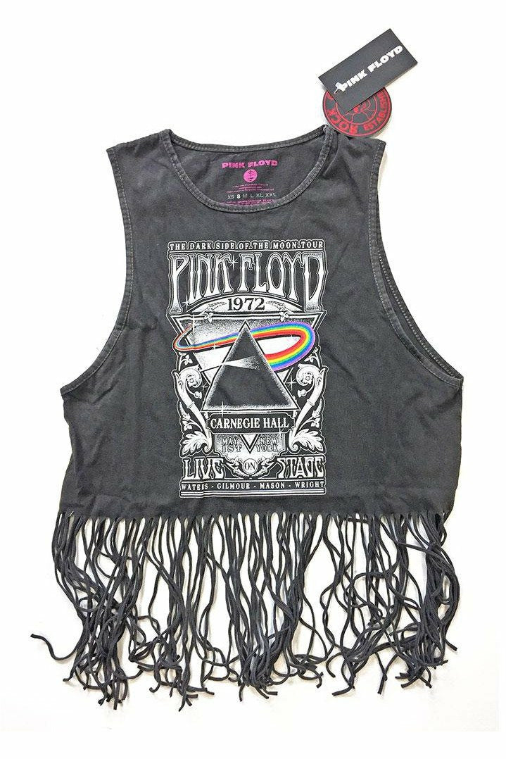 Pink Floyd Tassel Crop Top