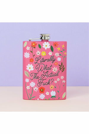 What The F#ck Pink Hip Flask