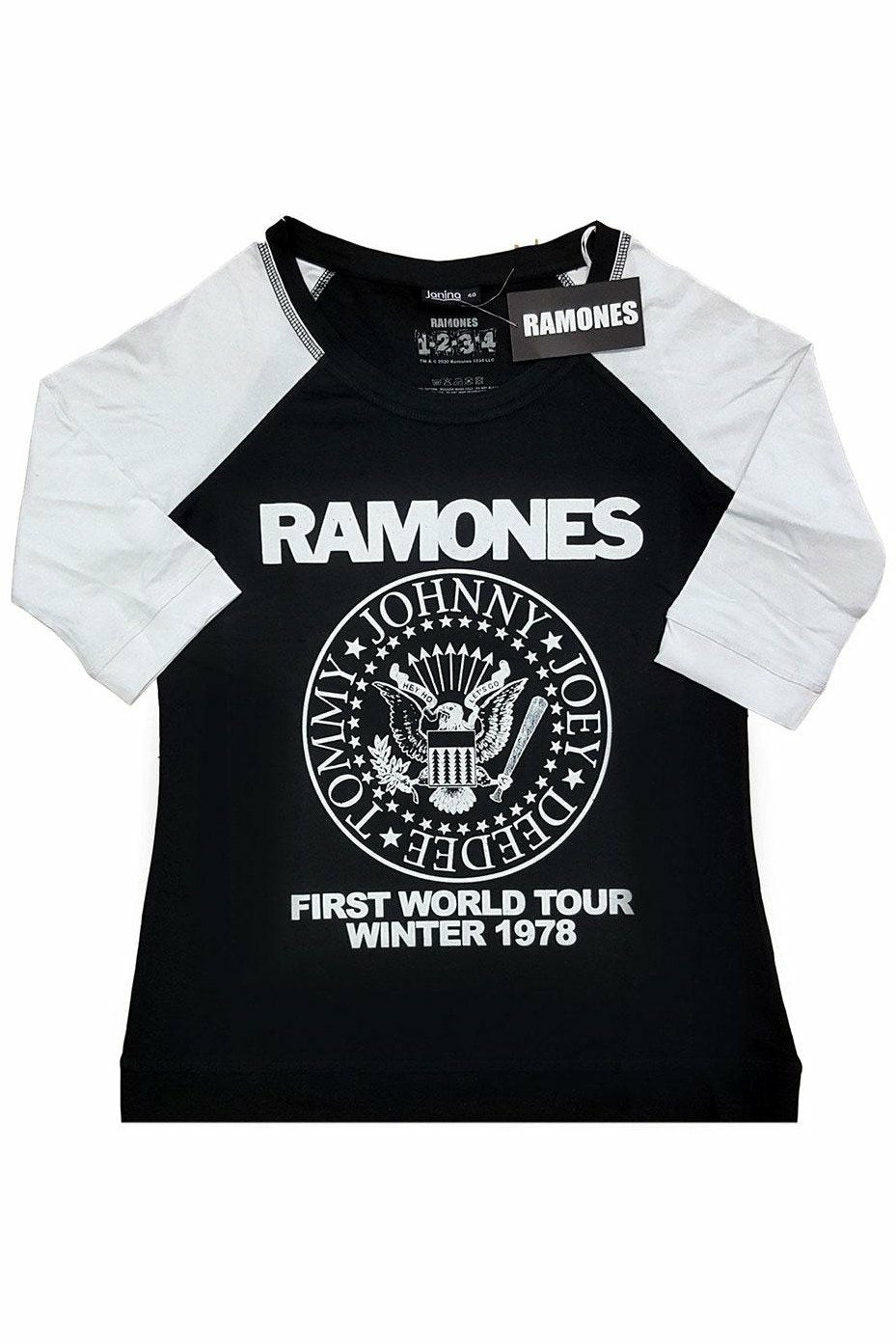 Ramones : First World Tour 1978 Raglan