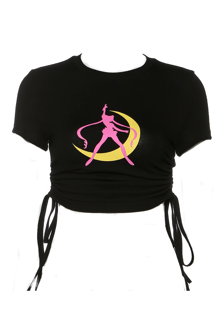 Moon Prism Power Crop Top