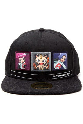 Team Rocket Character Snapback