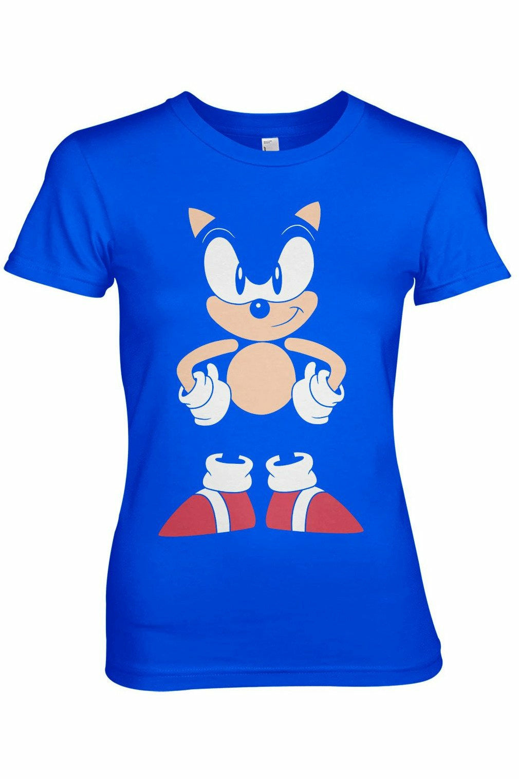 Sonic The Hedgehog Character T-Shirt