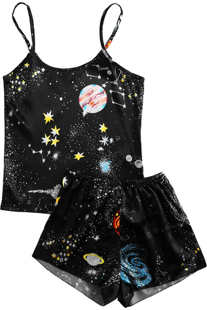 Space Oddity Satin PJs