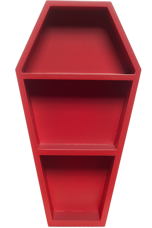 Red Coffin Shelf