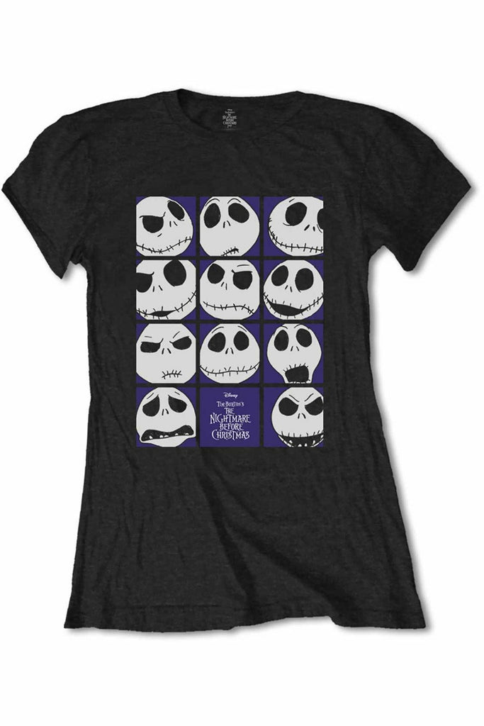 The Many Faces Of Jack Skellington T-Shirt