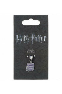 Harry Potter Charm Knight Bus (Silver Plated) - Soft Kitty Clothing
