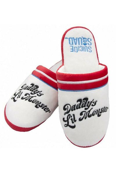 Harley Quinn Daddy's Lil Monster Slippers