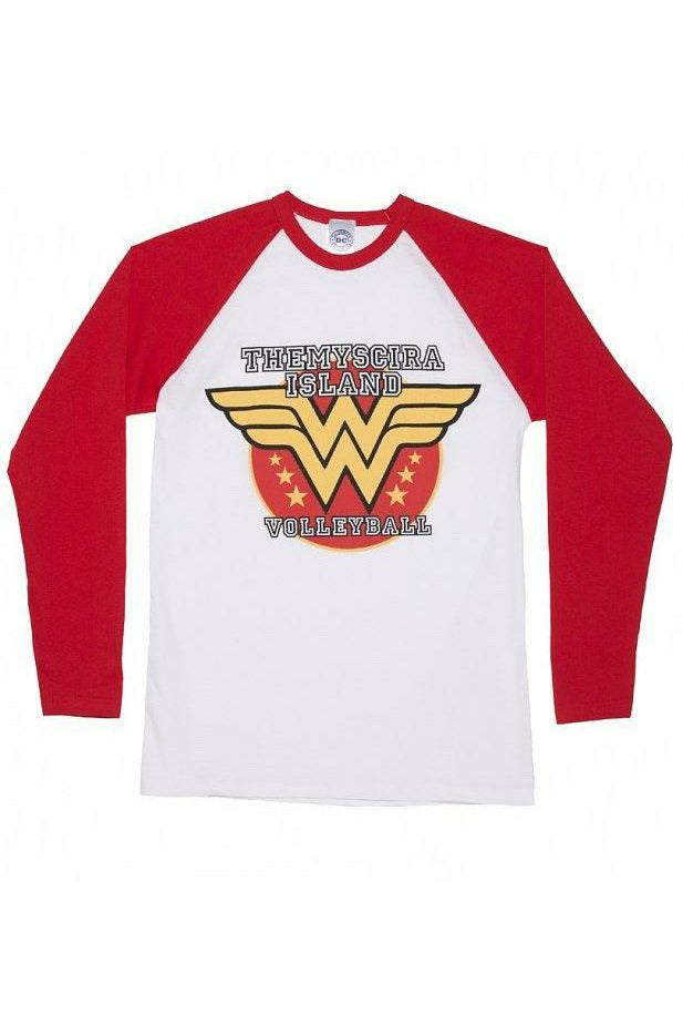 Wonder Woman Volleyball Varsity Top
