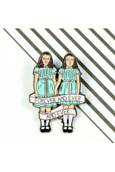 The Shining Twins Enamel Pins