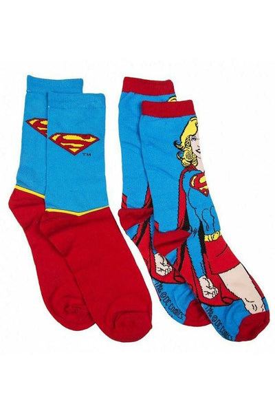 SuperGirl 2 Pack Of Socks