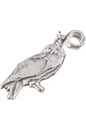 Harry Potter Hedwig The Owl Charm (Silver Plated) - Soft Kitty Clothing