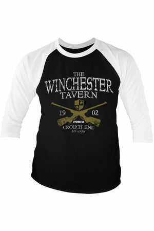 SHAUN OF THE DEAD : Winchester Tavern Baseball Top