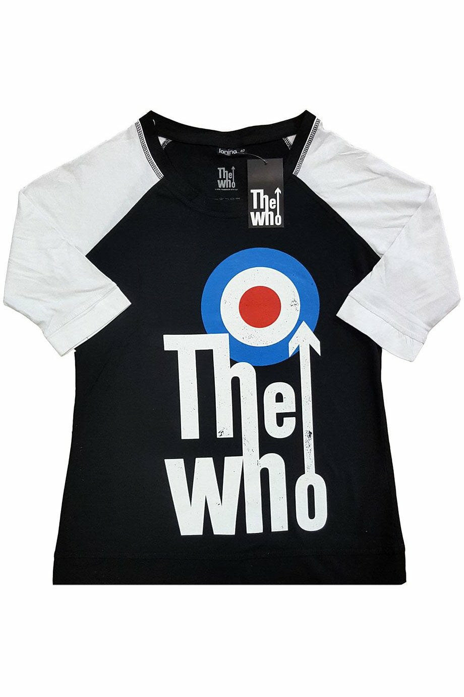The Who : Elevated Target Raglan
