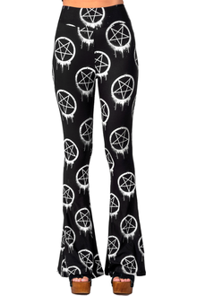 Pentagram Bell Bottom Pants