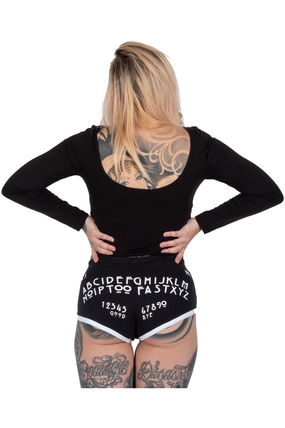 OUIJA Board Booty Shorts