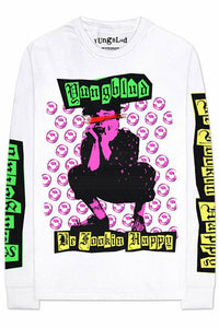 Yungblud : Be Fookin Happy Long Sleeve T-Shirt