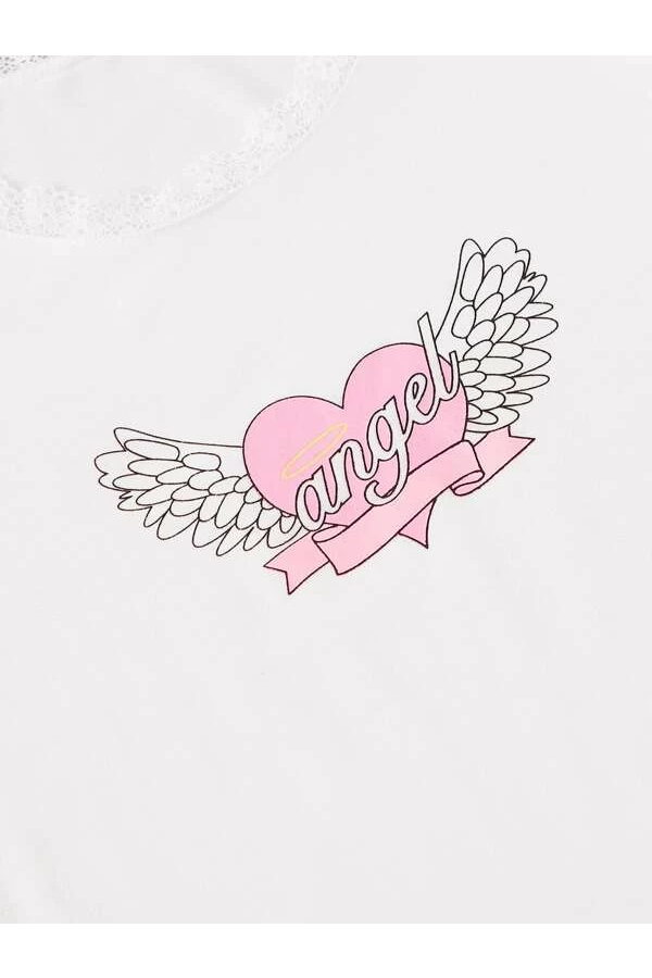 Angel Pastel Crop Top