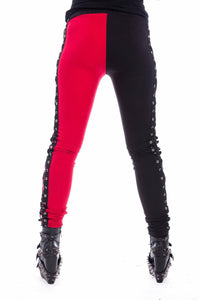 Asylum Lace Up Leggings