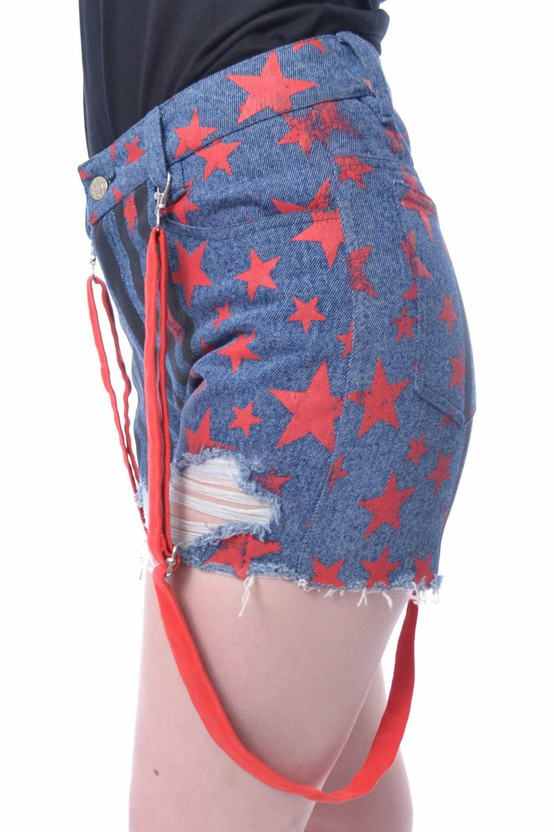 Harley Quinn x Birds Of Prey Star Shorts