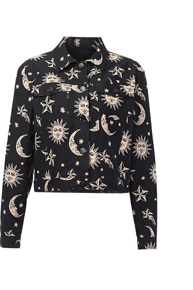 Celestial Sun and Moon Jacket
