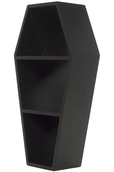 Black Coffin Shelf