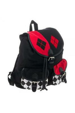 Harley Quinn Backpack - Soft Kitty Clothing