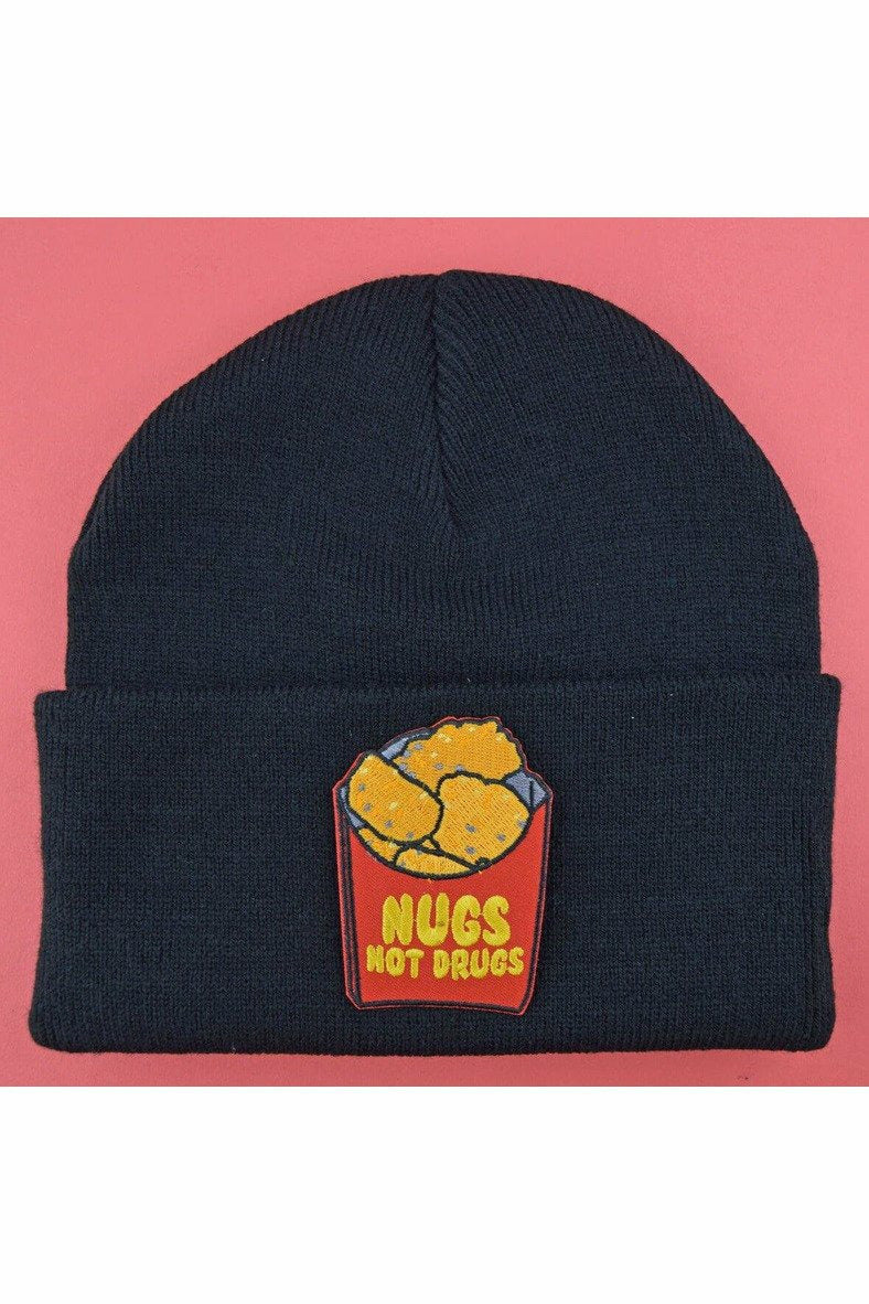 Nugs Not Drugs Beanie Hat