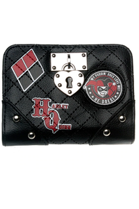 Harley Quinn Quilted Purse