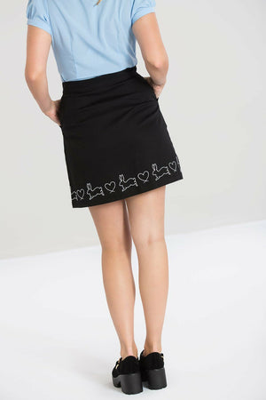 Hop Along Bunny Mini Skirt