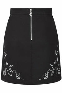 Cullen Graveyard Mini Skirt