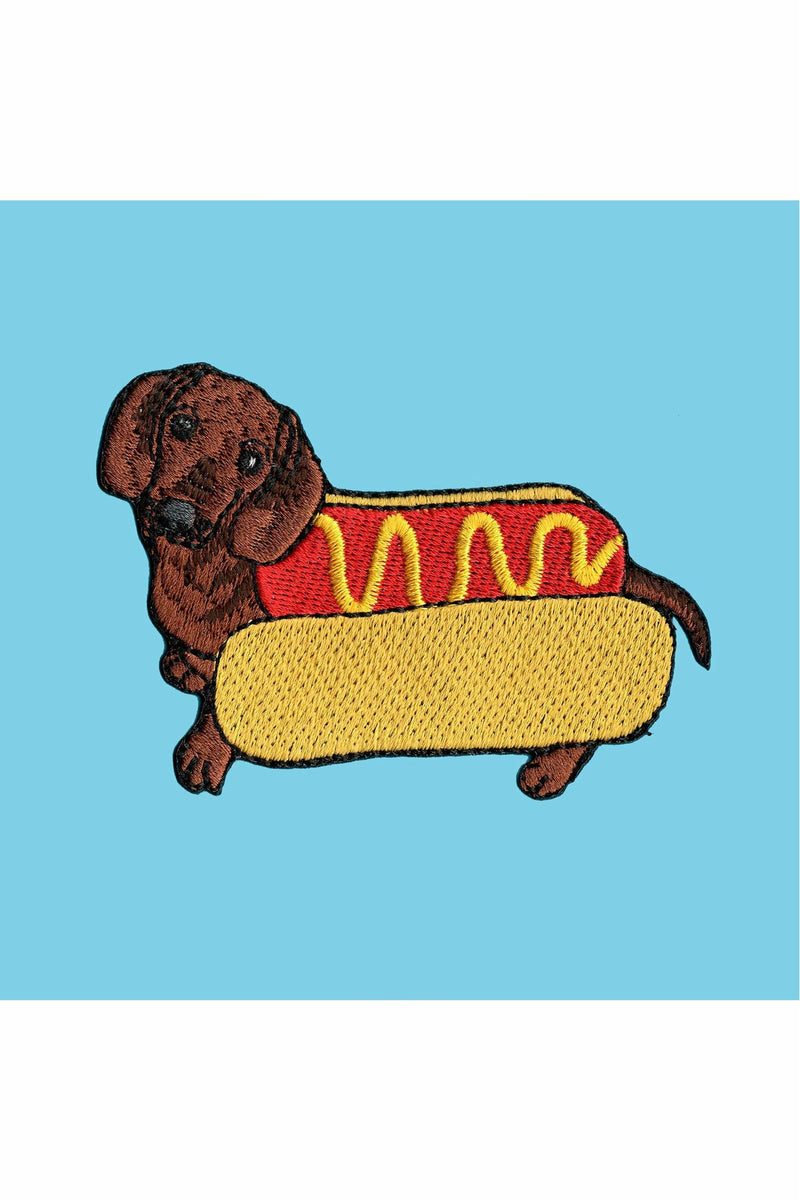 Dachshund Hot Dog Patch
