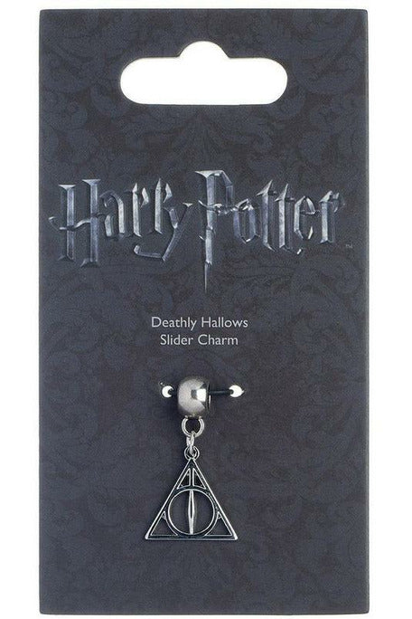 Harry Potter Deathly Hallows Charm (Silver Plated)