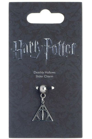 Harry Potter Deathly Hallows Charm (Silver Plated) - Soft Kitty Clothing